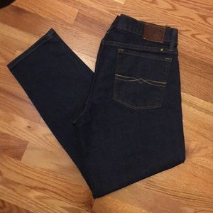 NWOT Lucky Brand Straight Crop Jeans